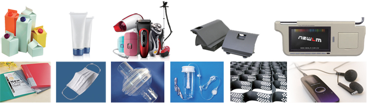applications of plastic welding machines